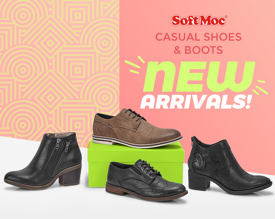 SoftMoc - Casual Shoes & Boots - New Arrivals