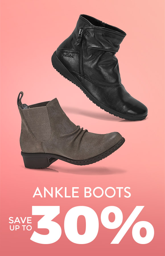 Ankle Boots - Save up to 30%