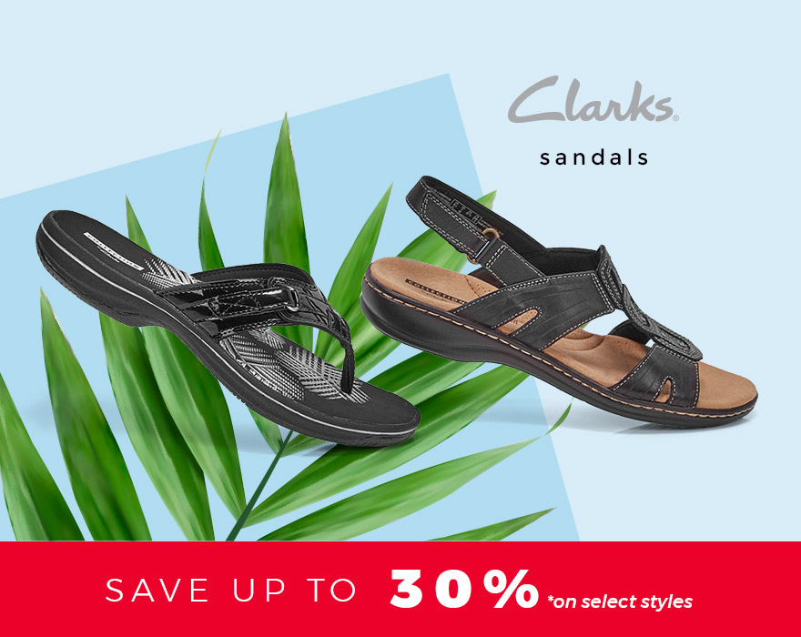 Clarks - Sandals - Save up to 30%* on select styles