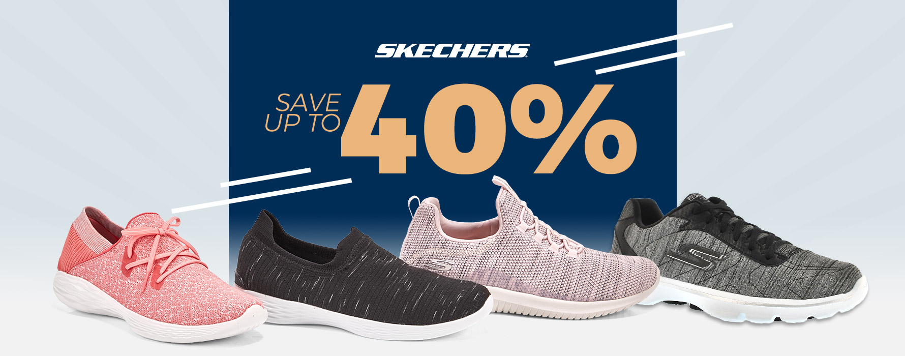 Skechers - Save up to 40%