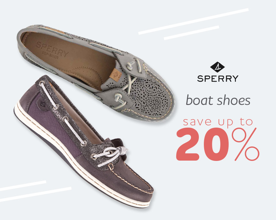 Boat Shoes - Save up to 20%