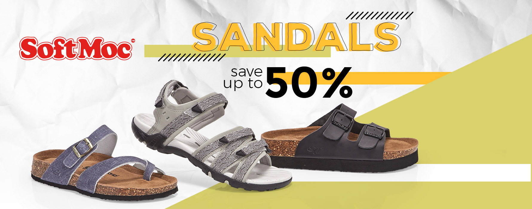 SoftMoc Sandals - Save up to 50%!