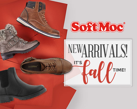 SoftMoc - Boots! New Fall Arrivals!