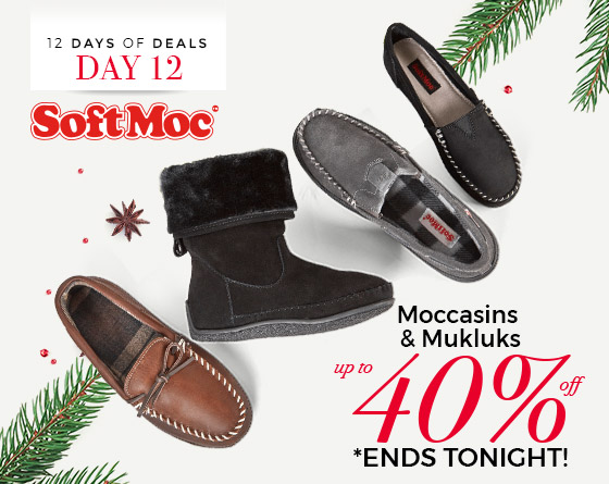 SoftMoc - Moccasins & Mukluks - Up to 40% Off