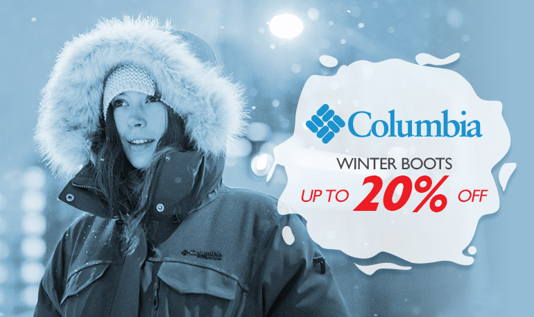 Columbia - Winter Boots - Up to 20%
