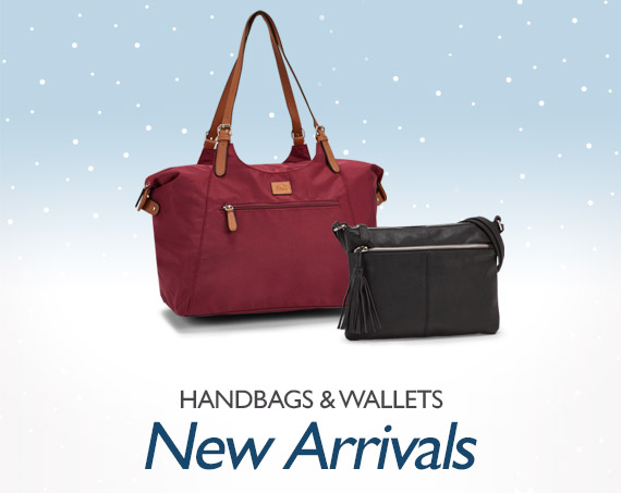 Handbags & Wallets - New Arrivals