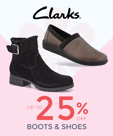 Clarks Casual Boots & Shoes