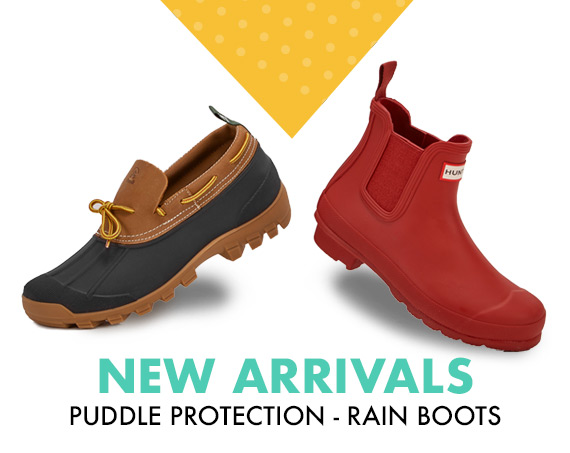 Puddle Protection - Rain Boots