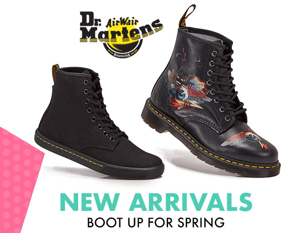 Boot Up for Spring