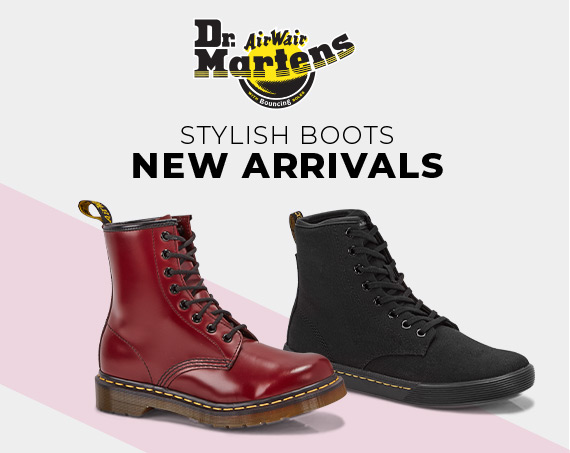 Dr. Martens Stylish Boots
