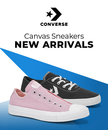 Converse - Canvas Sneakers - New Arrivals