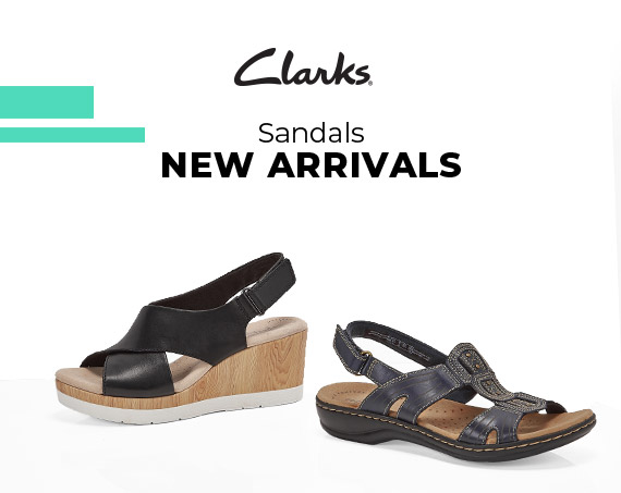 Clarks - Sandals - New Arrivals