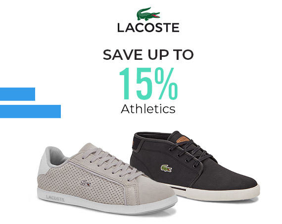 Lacoste - Athletics - Save up to 15%