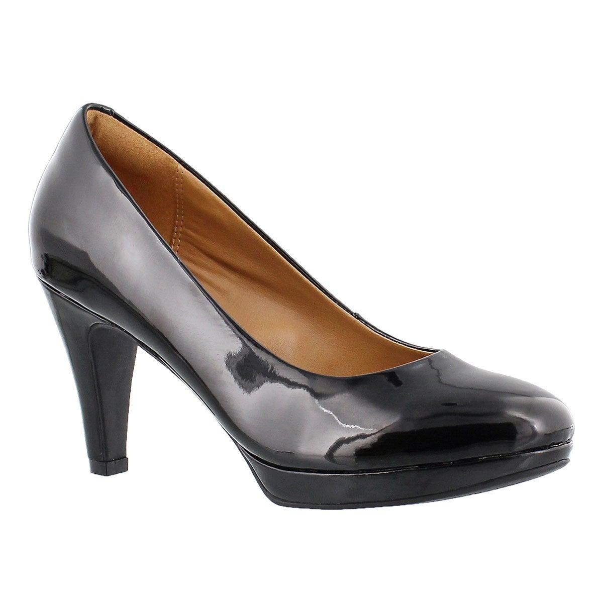 Women's BRIER DOLLY black patent dress heels
