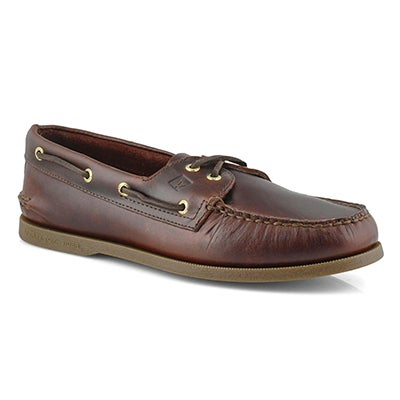 Sperry Men's AUTHENTIC ORIGINAL amaretto boat shoes