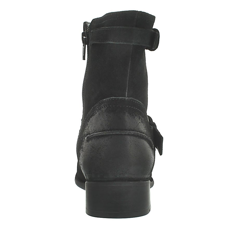 Lds Plaza Float blk casual ankle boot