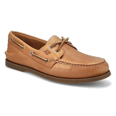 Men's AUTHENTIC ORIGINAL sahara brown boat shoes