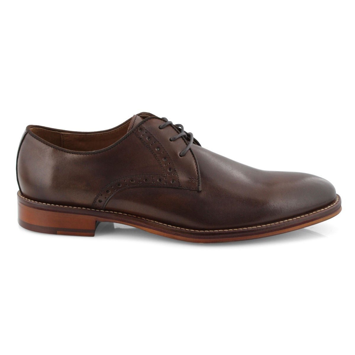 Mns Conard Plain Toe mhgny dress oxford