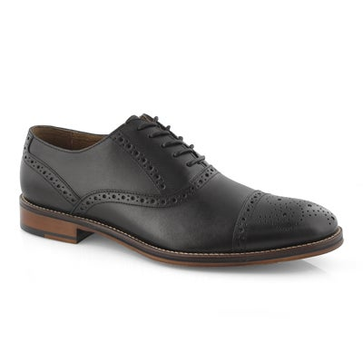 Mns Conard Cap Toe black dress oxford