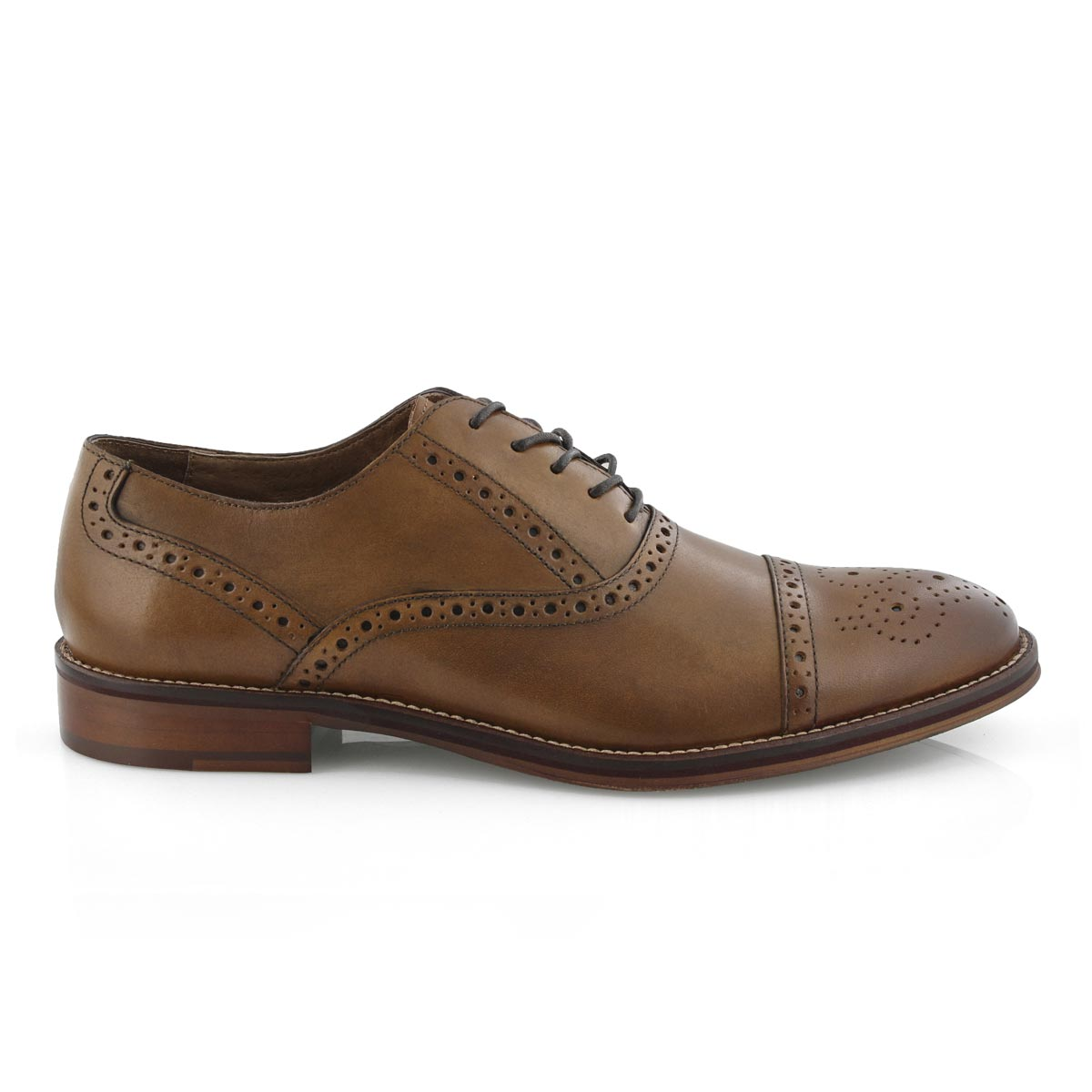 Mns Conard Cap Toe tan dress oxford