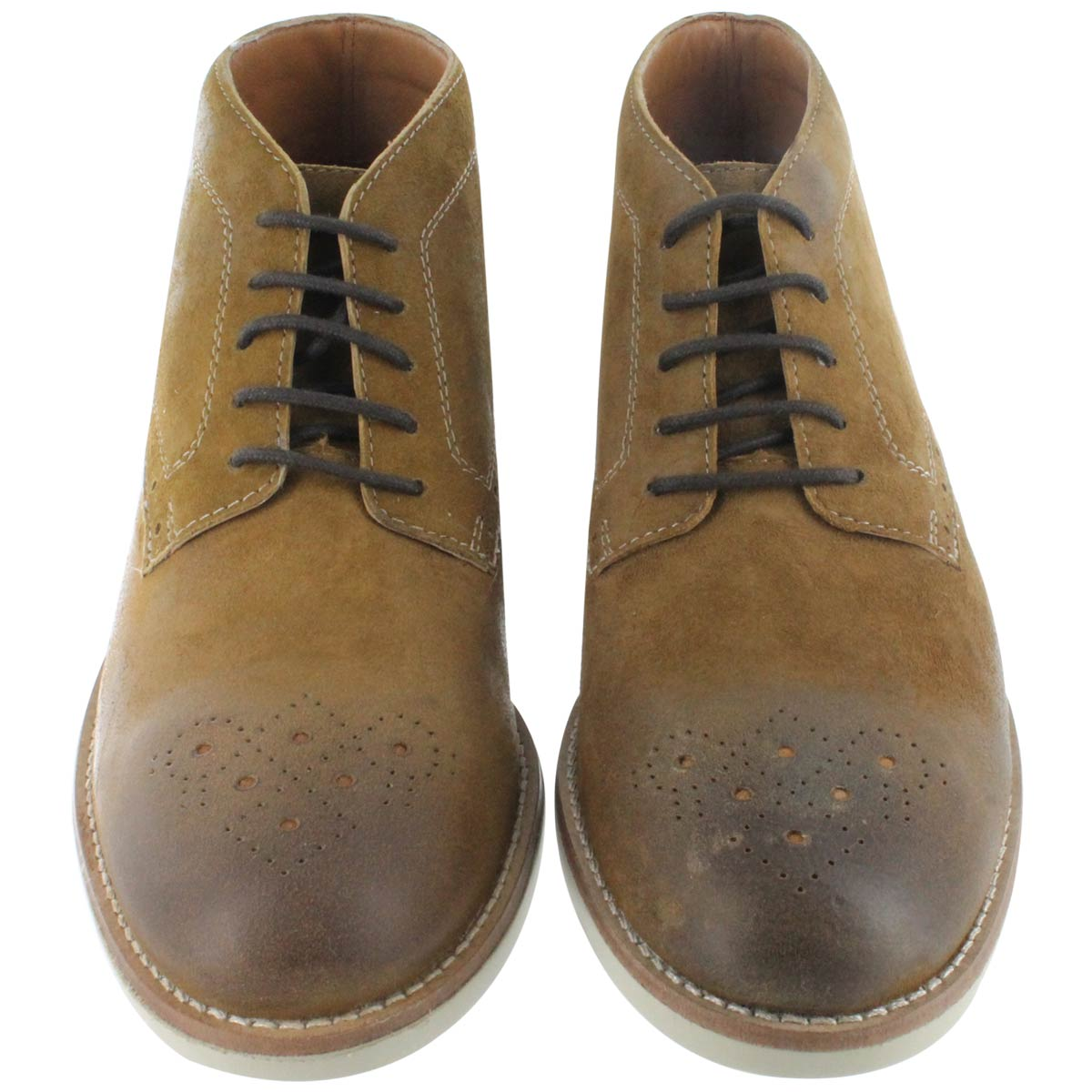 Clarks Men's RASPIN LIMIT tobacco lace up boots 03203M