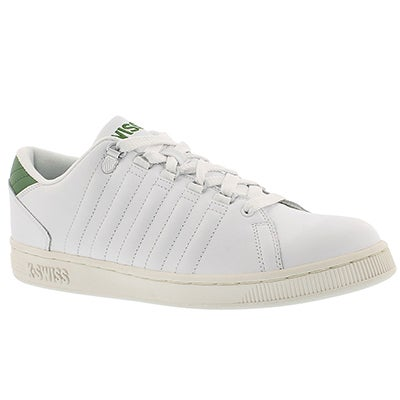 Mns Lozan white/green lace up sneaker
