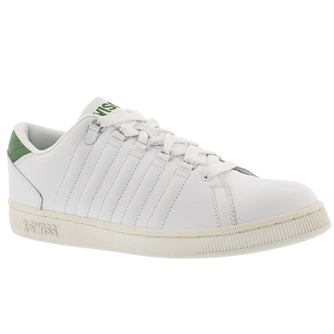 Mns Lozan white/green lace up sneaker