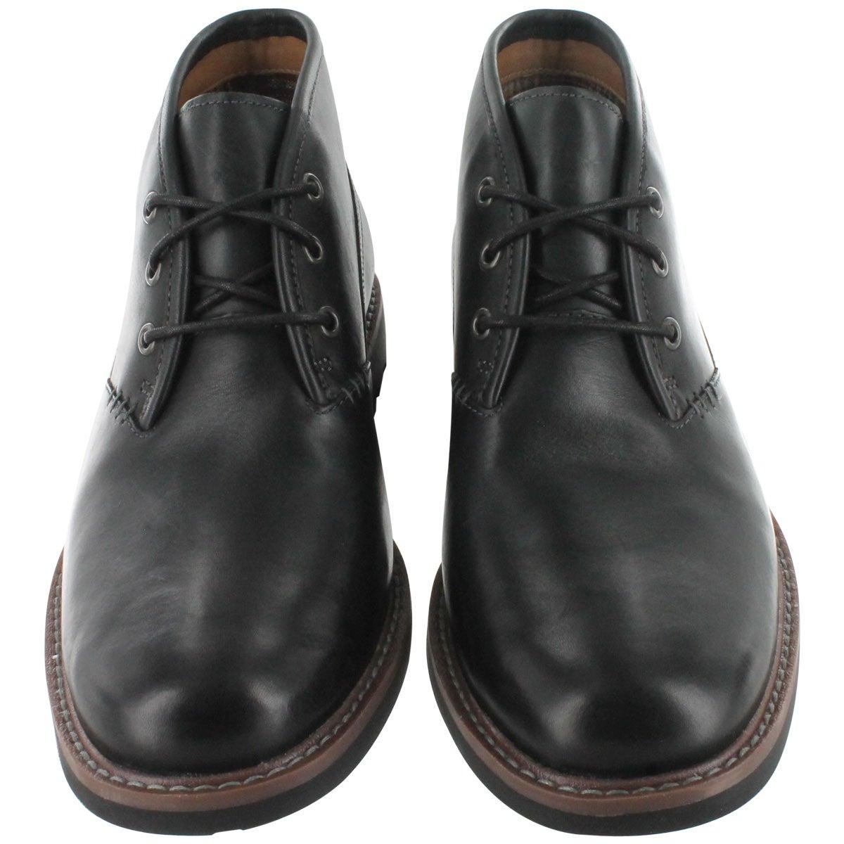 Clarks Men's MONTACUTE DUKE black casual boots 03251M