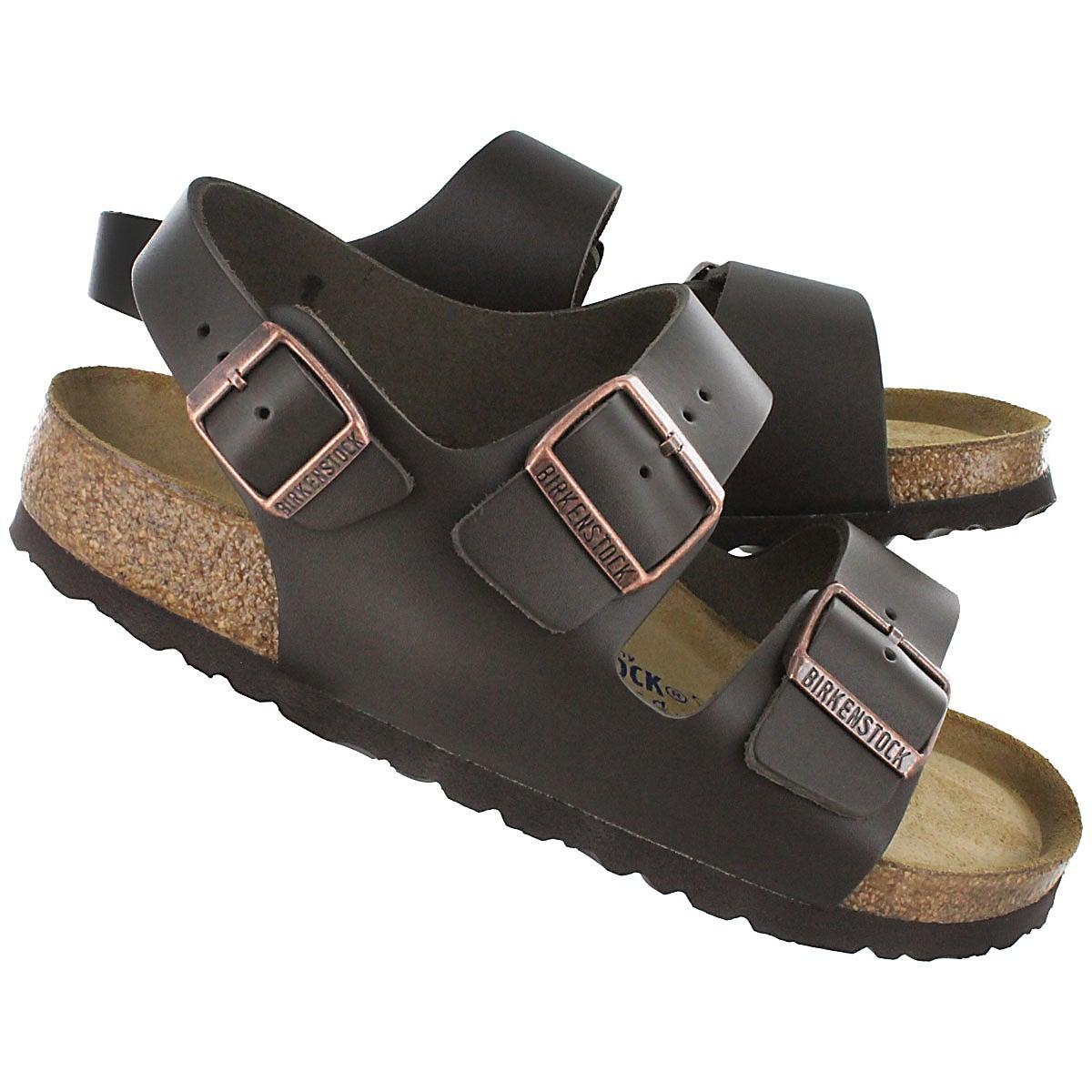 Lds Milano SF dk brn slingback sandal