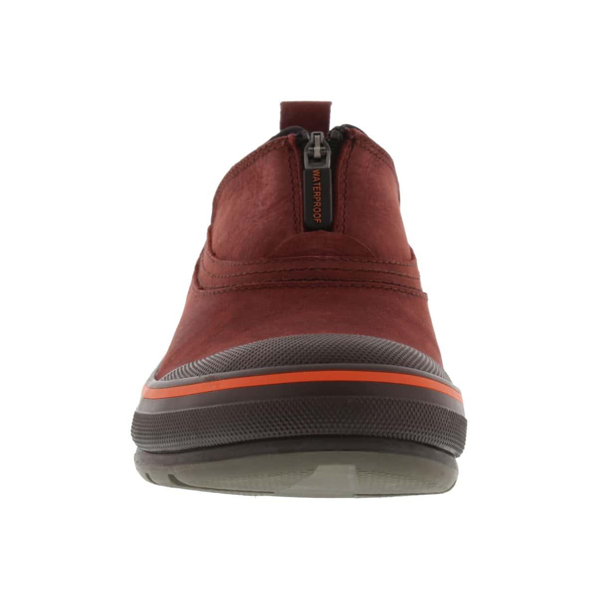 Chaussures imp. RIDGE, cuir rouge, fem
