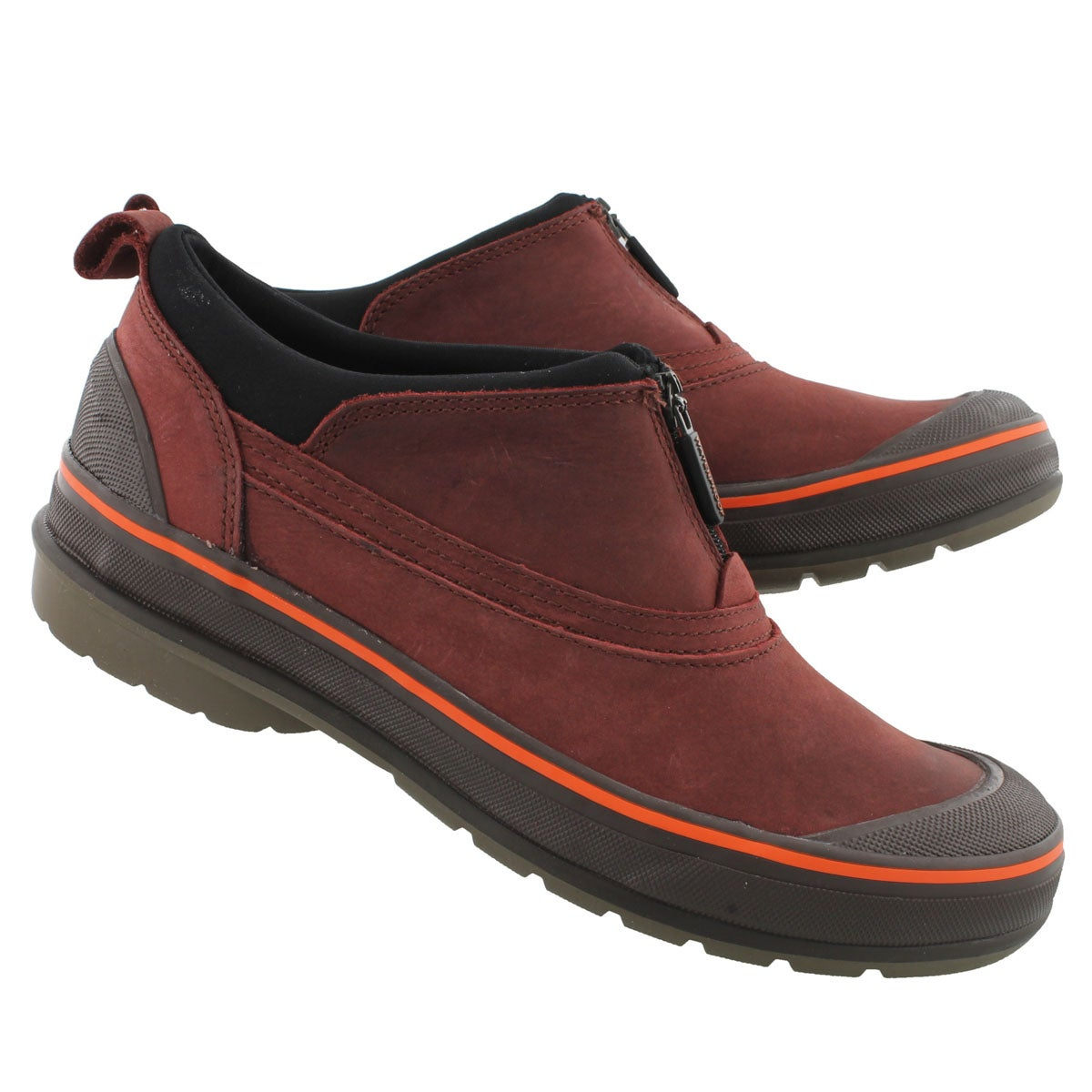 Lds Ridge red wtpf leather muckers