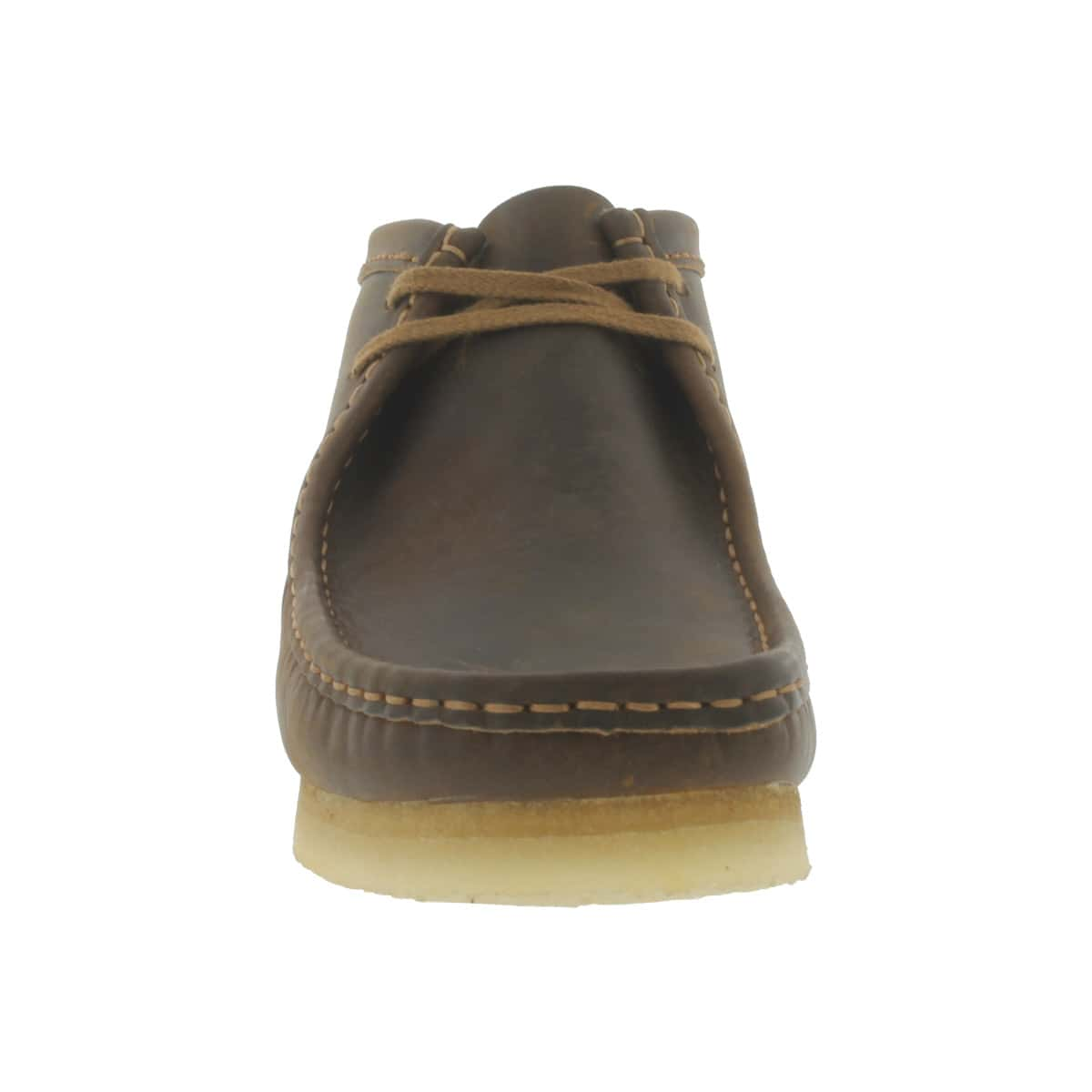 Mns Wallabee beeswax leather casual boot