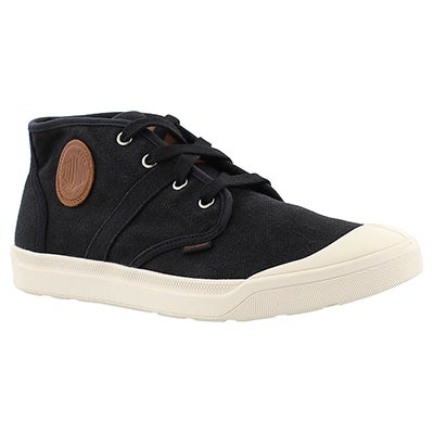 Palladium Men's PALLARUE MID black sneakers