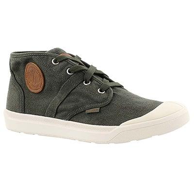 Mns Pallarue Mid army green sneaker