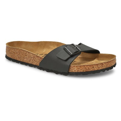 Birkenstock Women's MADRID black single strap sandals