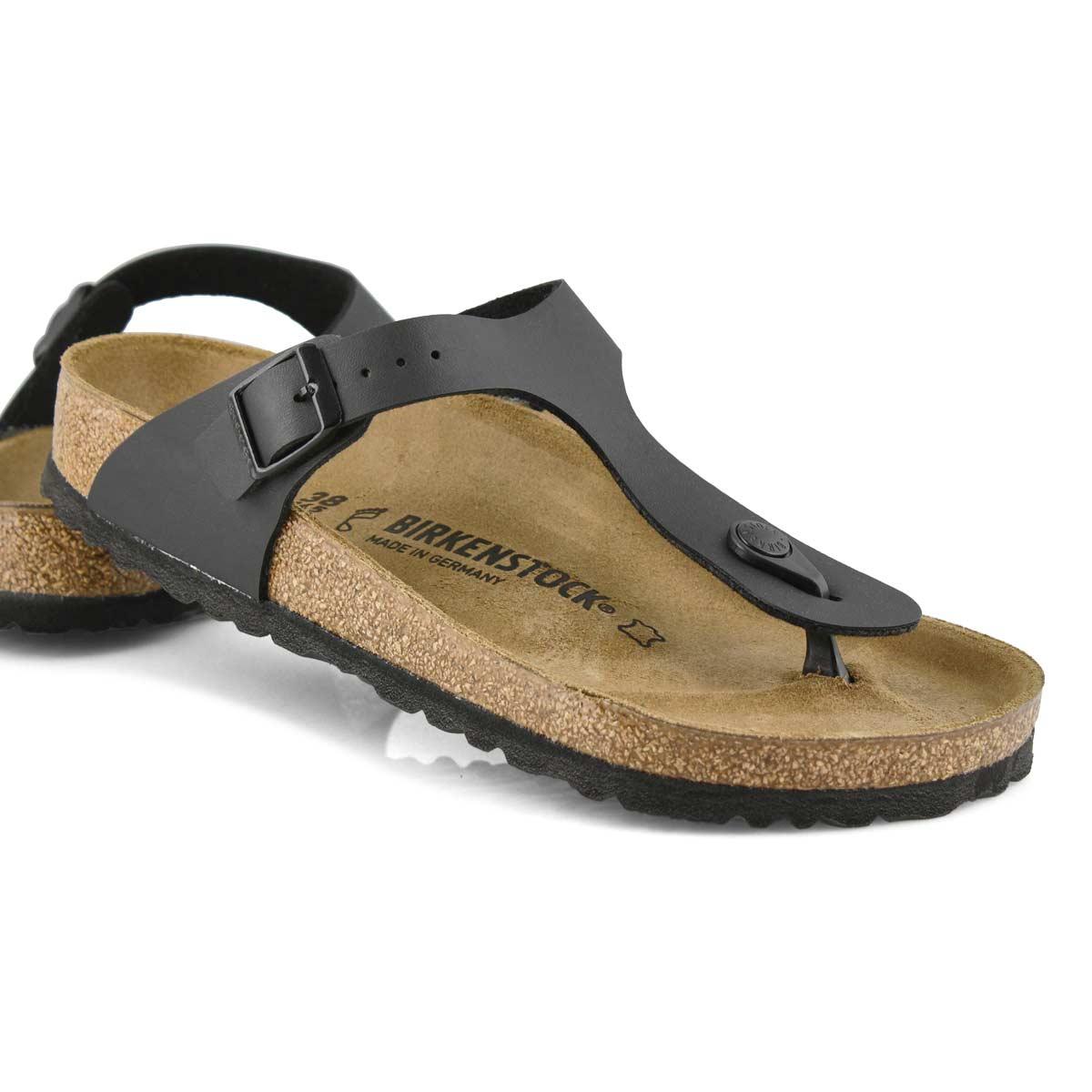 Sandale tong Gizeh, noir, femmes