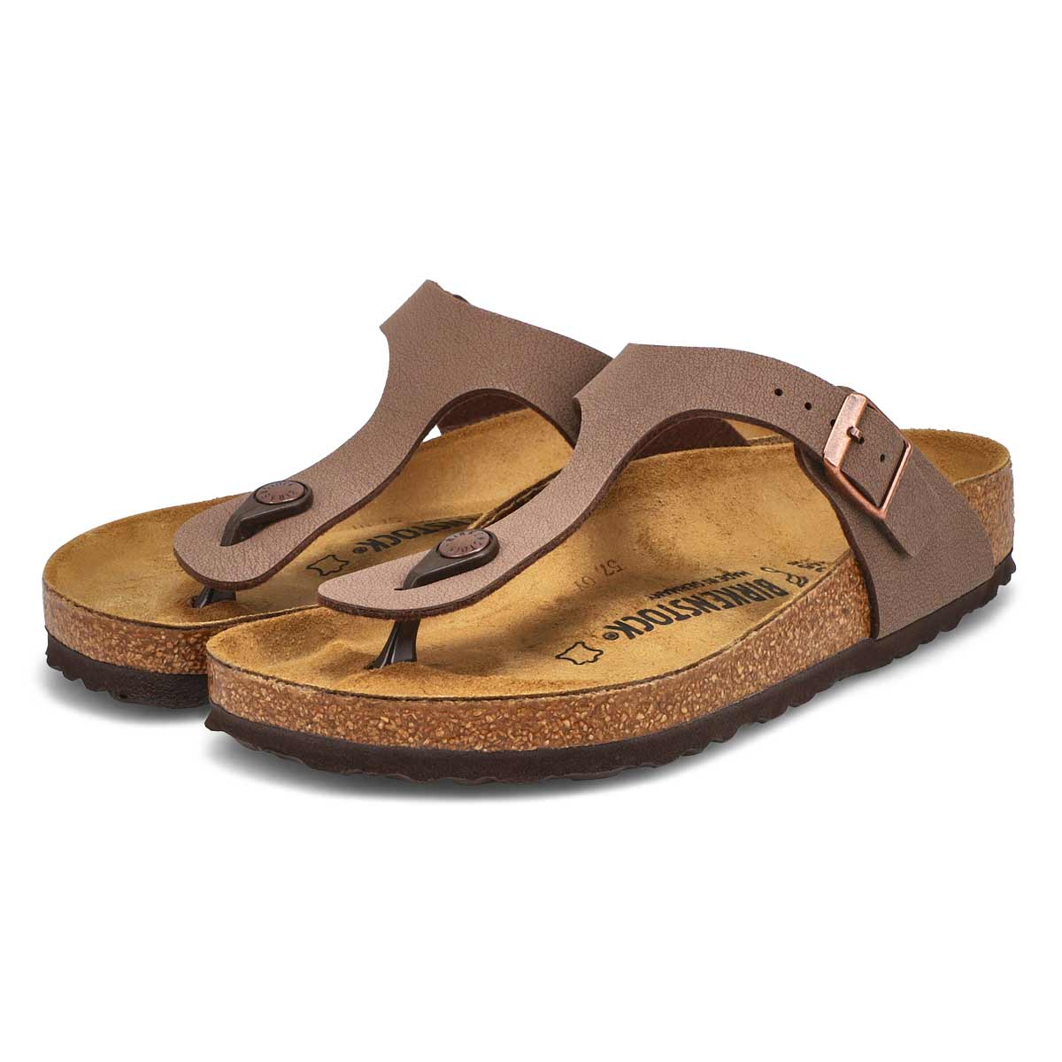 Sandales tongs Gizeh BF, moka, femme