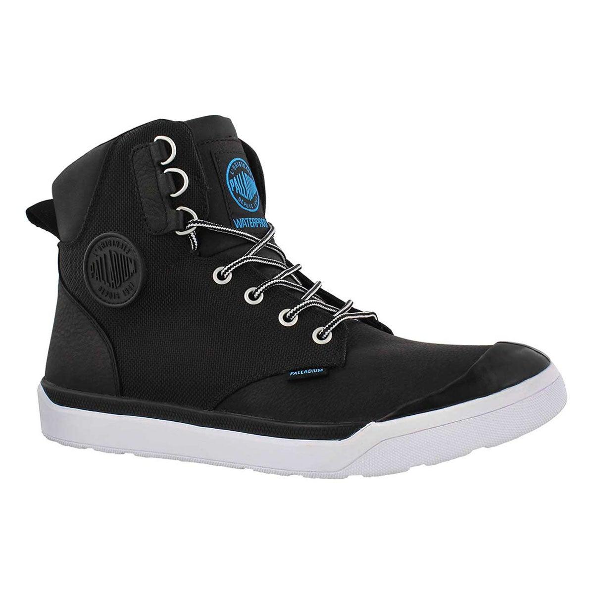 Men's PALLARUE HI CUFF blk waterproof ankle boots