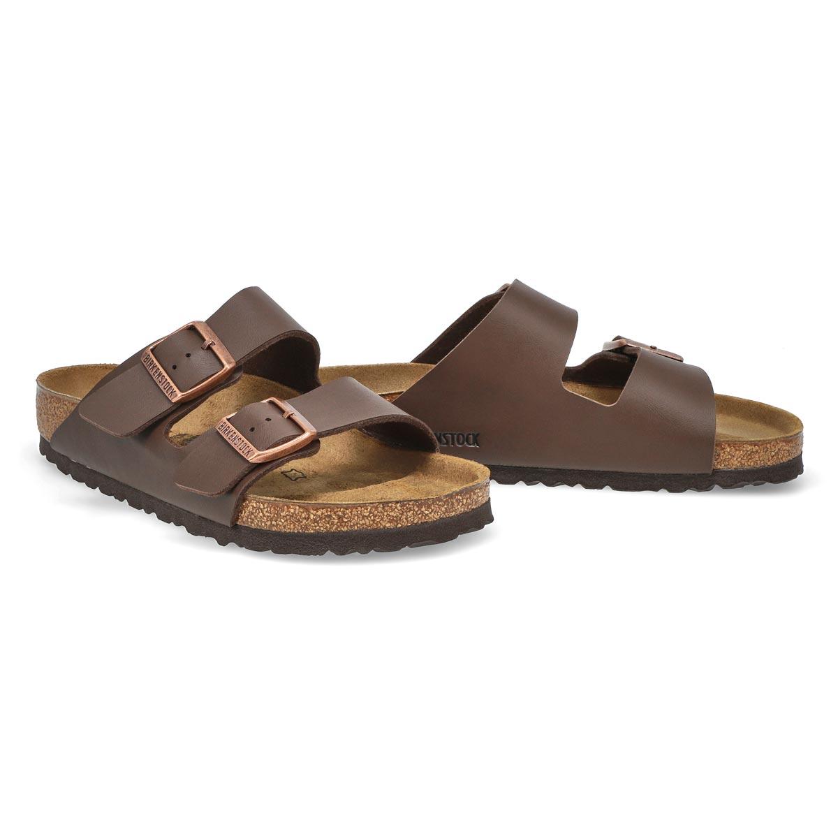 Lds Arizona brown 2 strap sandal