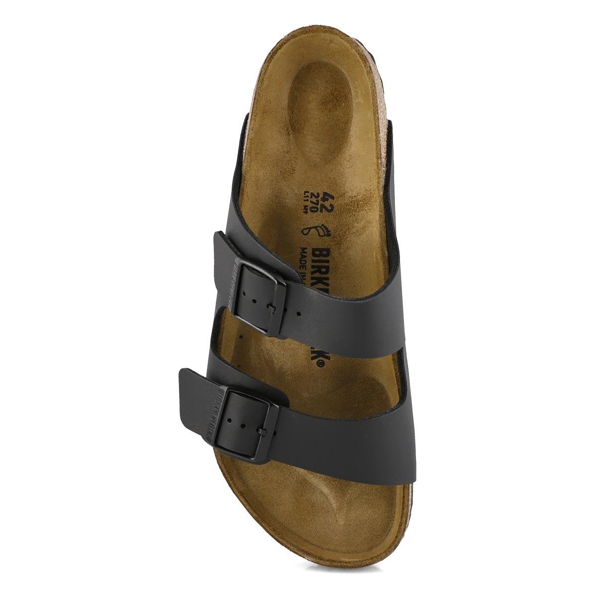 Mns Arizona black 2 strap sandal