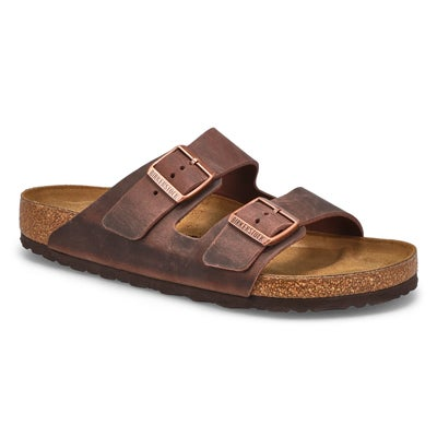 Birkenstock Men's ARIZONA habana 2 strap sandals