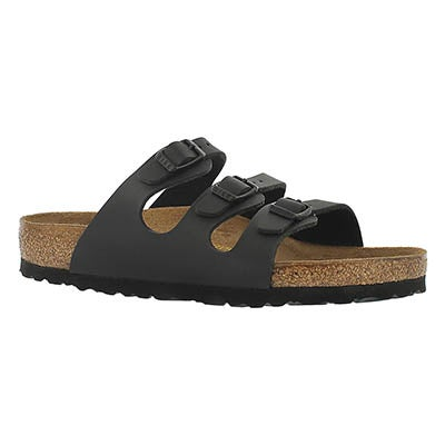 Birkenstock Women's FLORIDA black 3 strap sandals