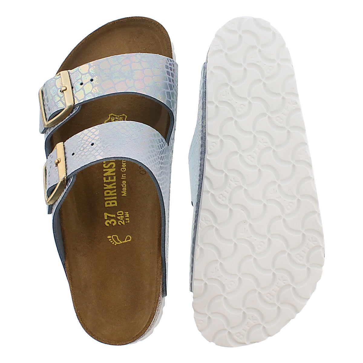 Lds Arizona shiney snake sky sandal