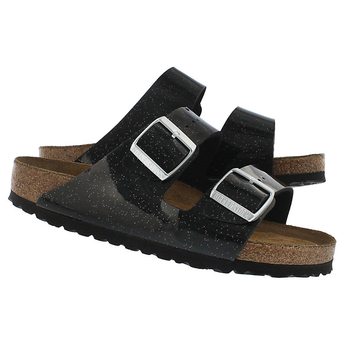 Lds Arizona SF magic galaxy blk sandal