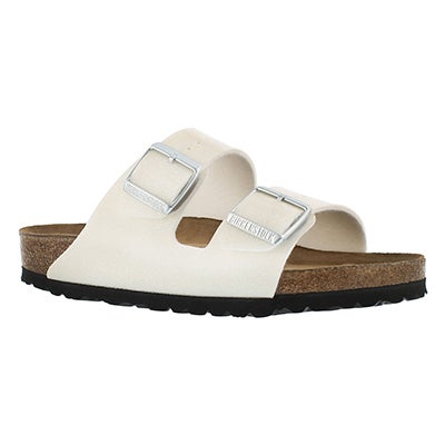 Birkenstock Women's ARIZONA SF magic galaxy white sandals