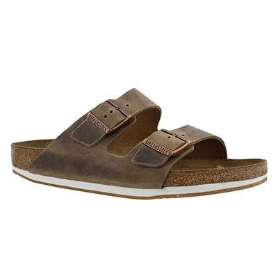 Birkenstock Men's ARIZONA tobacco 2 strap sandals