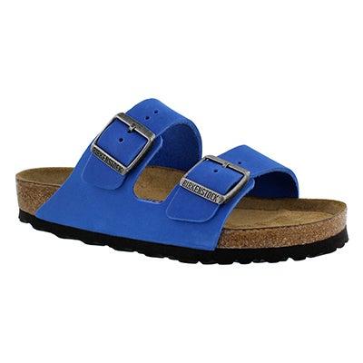 Birkenstock Women's ARIZONA SF blue 2 strap sandals