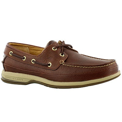 Sperry Men's GOLD BOAT ASV cognac leather boat shoes
