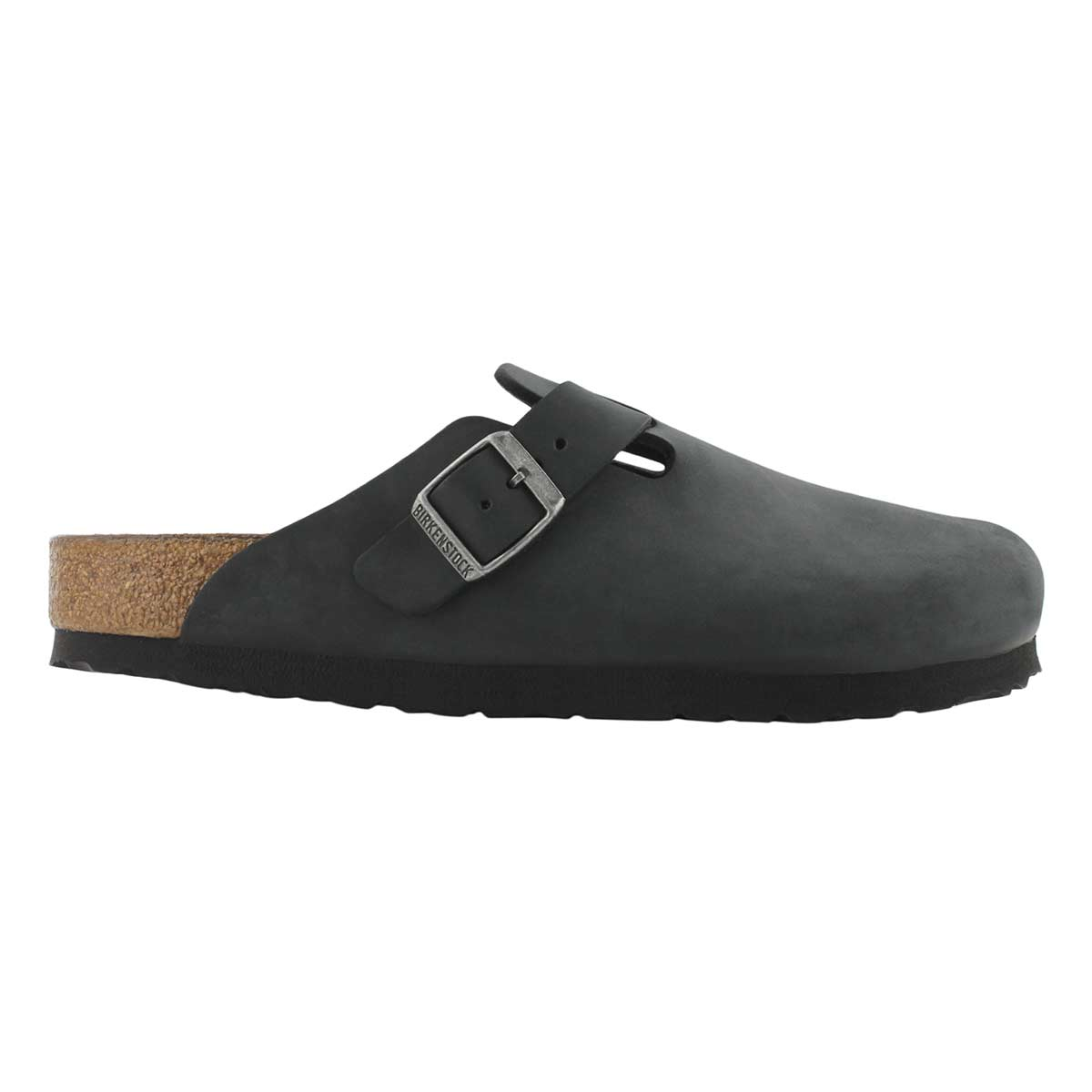Lds Boston black oiled casual clog