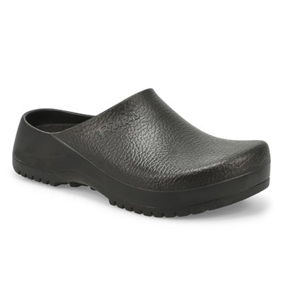 Birkenstock Women's SUPER-BIRKI black comfort clogs